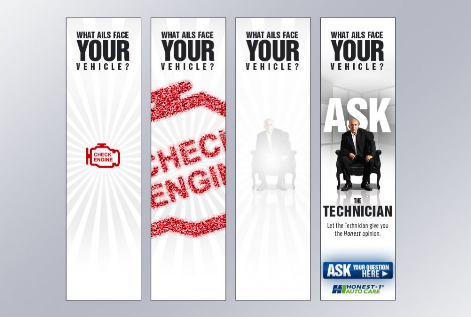 """The Technician"" Banner Ad"