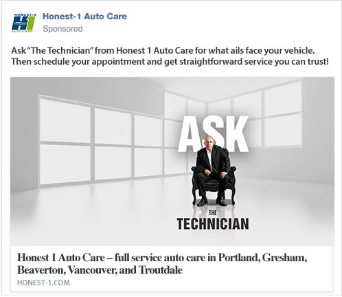"""The Technician"" Social Ad"