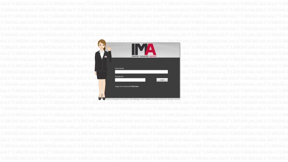 IMA UI-login