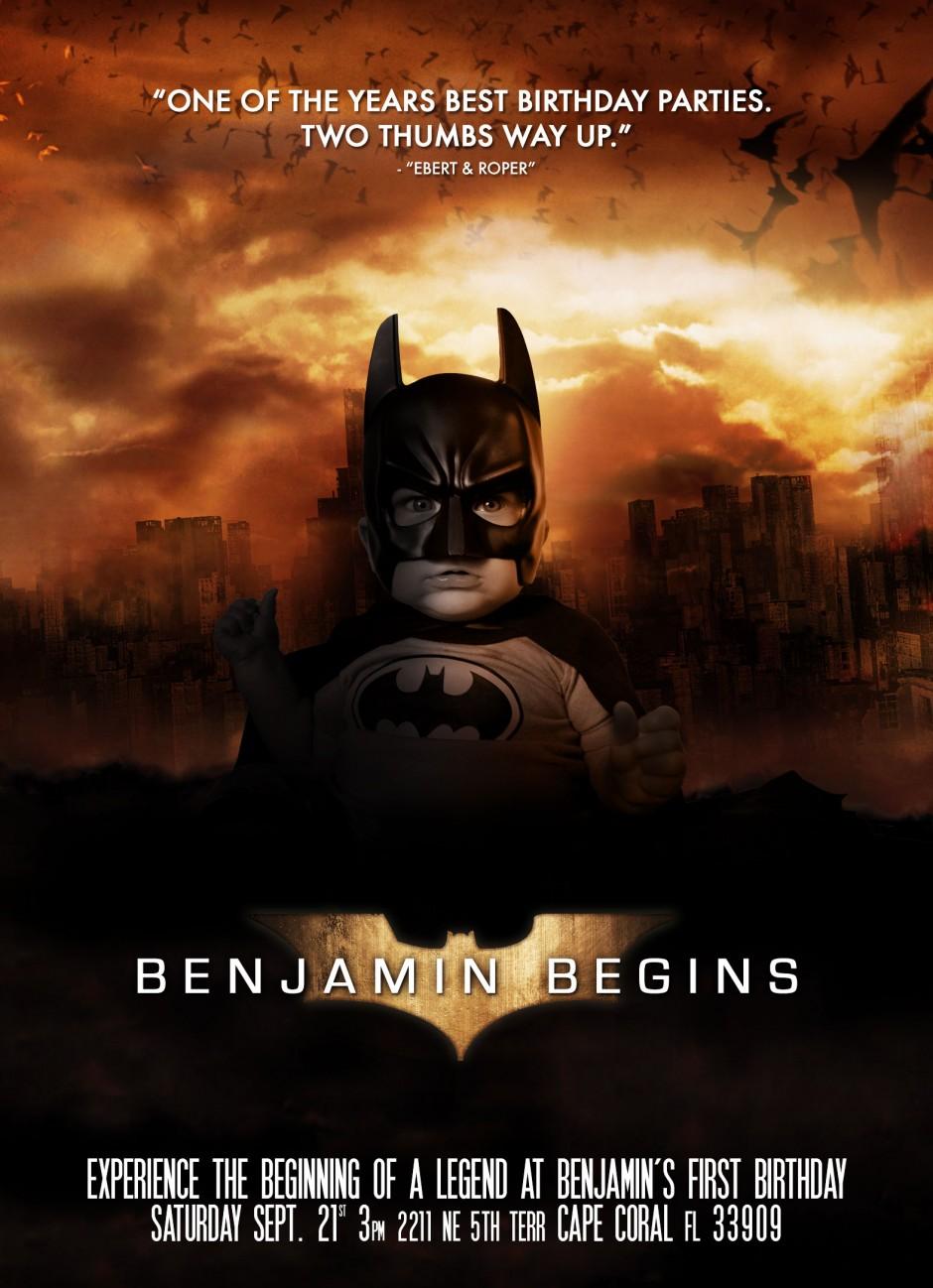 Benjamin Begins